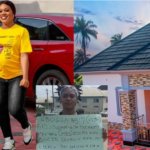"""No man gave it to me"" – Woman who once took to the streets with a cardboard to beg for job, builds herself a house at 31"