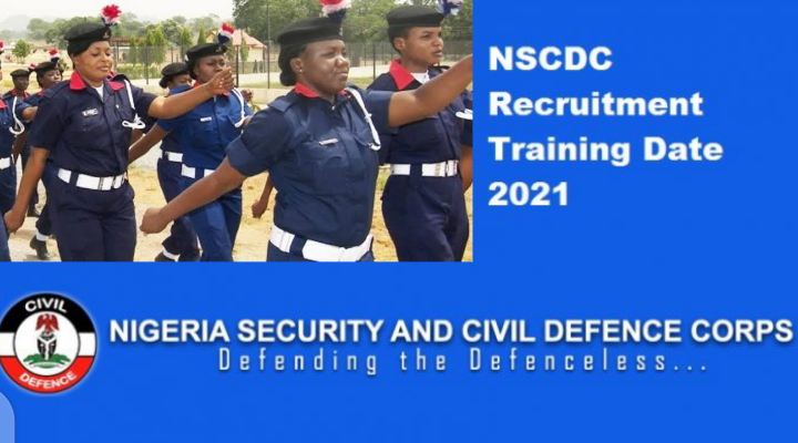 Civil Defence Training Exercise   NSCDC Recruitment Training Date 2021   How To Print Your Invitation Letter